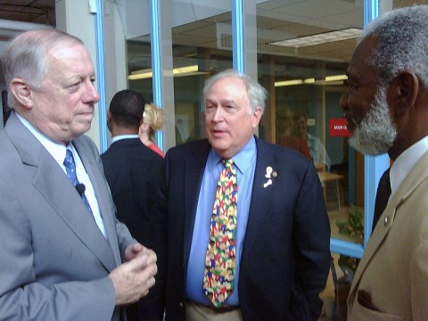 Governor Phil Bredesen met with Jim Mann and Horace Murphy, Jr.