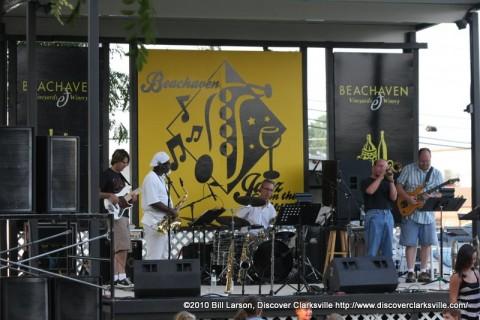 Clarksville Jazz Quintet at Jazz on the Lawn