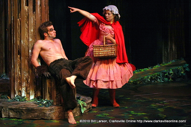 Little Red Riding Hood With The Big Bad Wolf Clarksville Tn Online