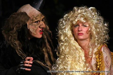 The Witch and Rapunzel (Hannah Church)