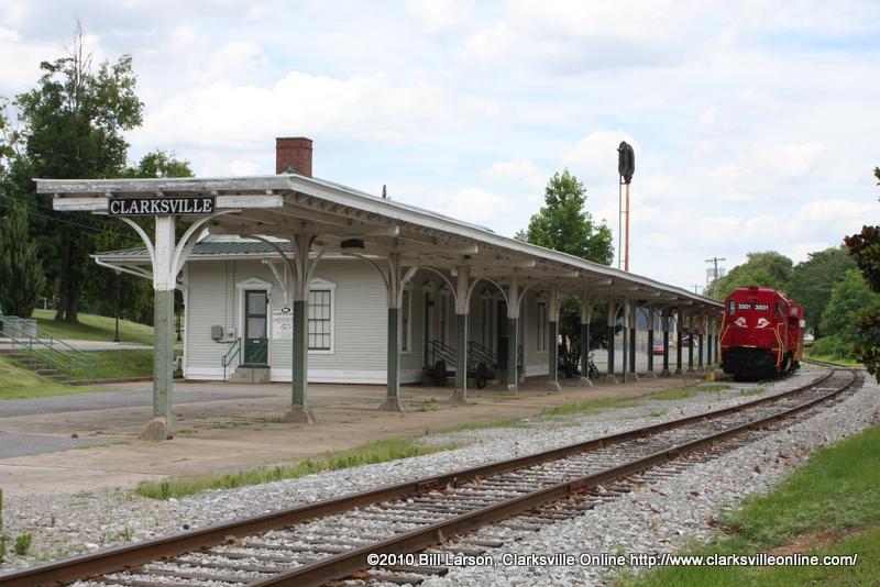 Image result for l&n train station clarksville tn
