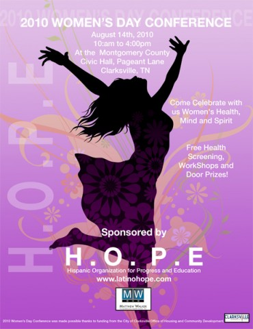 HOPE Womens Day Conference 2010