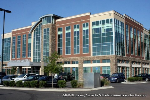 Chesapeake Commons is the home of the University of Phoenix in Clarksville, TN