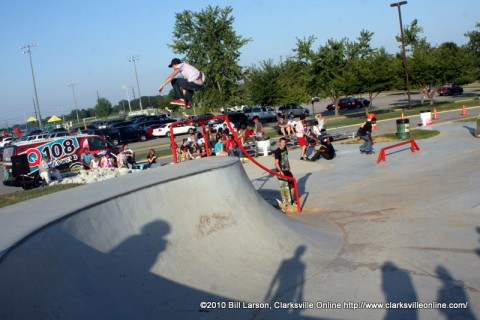 Party at the Skate Park