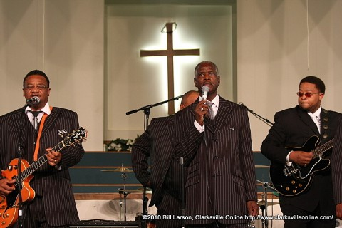 Lee Williams and the Spiritual QC's at Greater Missionary Baptist Church