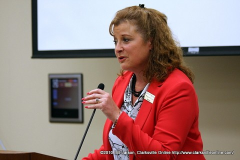 Betty Burchett, the Montgomery County Assessor of Property .
