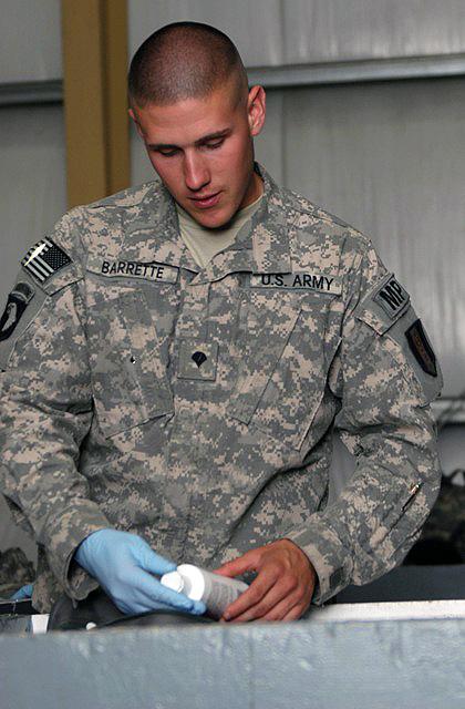U S Army Spc David Barrette 342nd Military Police