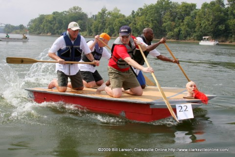 The City Council's boat from last years race.
