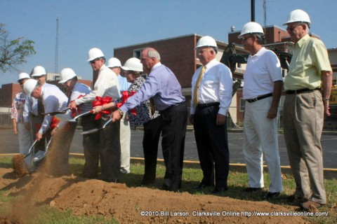 City and County Leaders break ground on the new location for Publix in Clarksville, TN