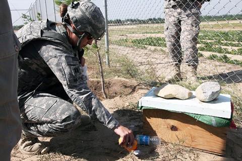 U.S. Army Capt. Bobbie Mayes - (Photo by U.S. Army Spc. Kristina L. Gupton, Task Force Wolverine Public Affairs, 982nd Combat Camera)