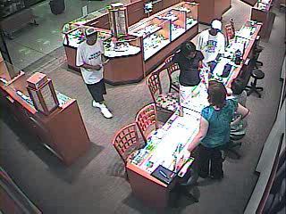 Three Jewelry Thieves