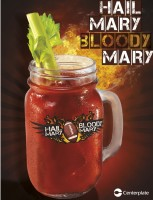 The Hail Mary Bloody Mary signature cocktail.