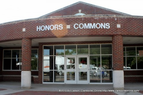 The Entrance to the APSU Honors Commons
