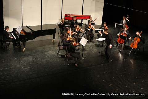 The Gateway Chamber Ensemble performing their New Beginning