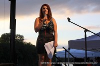 One of the Emcees of Gateway to Stardom Samantha Maselli