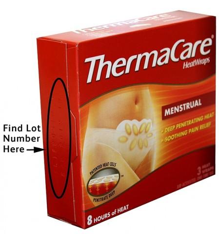 ThermaCare HeatWraps