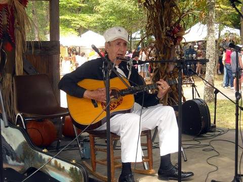 Roy Harper will share his old-time train music on opening night of Fall Creek Falls' 32nd Annual Mountaineer Folk Festival, slated for Sept. 10th-12th.