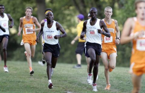 Govs men's cross country runners Geofrey Kosgei (left) and Enock Langat (right) led the Govs at the Old Timers Classic, Saturday (Courtesy: Keith Dorris/Dorris Photography)