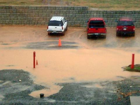 Montgomery Central High School Parking Lot