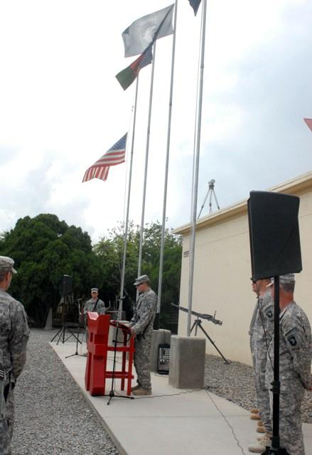 U.S. Army Capt. Nathan Davis (Photo by U.S. Army Pfc. Chris McKenna, 3rd Brigade Combat Team)