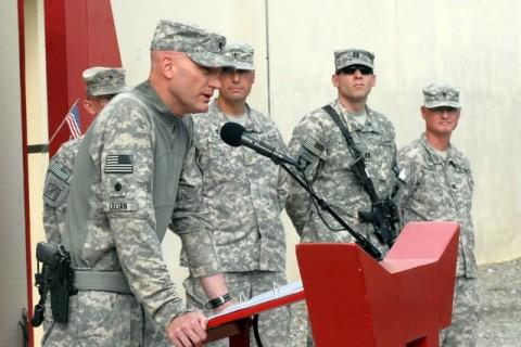 U.S. Army Lt. Col. Richard Ullian. (Photo by U.S. Army Pfc. Chris McKenna, 3rd Brigade Combat Team)