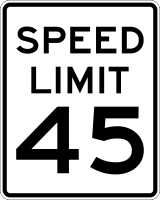 Speed limits have been changed on portions of Peachers Mill Rd.