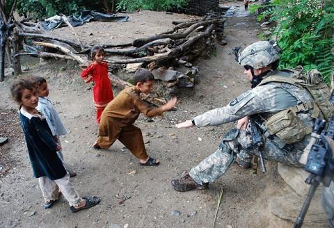 U.S. Army Staff Sgt. Jason Anderson of Bethel, Ohio. (Photo by U.S. Army Staff Sgt. Okan Scott; 300th Mobile Public Affairs Detachment)