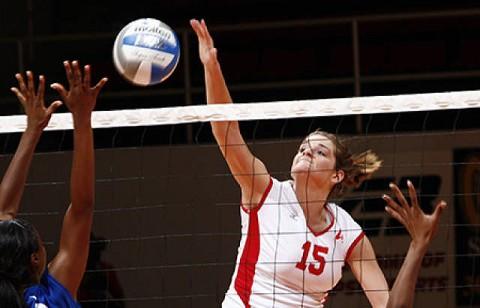 Lady Govs Volleyball. (Courtesy: Austin Peay Sports Information)