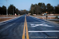 New railroad crossing on Guthrie HWY ( 79 N ).