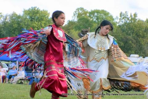 Native American Fancy Shawl Dancers