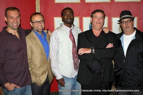 Keith Alberstadt, Brother Preacher, X-Man, Dan Whitehurst, and Hank Bonecutter