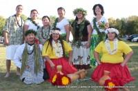 Members of the Hui Hawai`i O Tenesi Hawaiian Civic Club