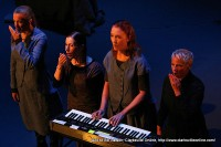 Katie Geissinger, Meredith Monk, Allison Sniffin, and Ellen Fisher in Education of the Girlchild Revisited