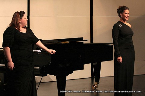 Pianist Joy Schreier and Soprano Danielle Talamantes
