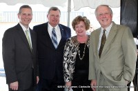 State Representatives Joe Pitts & Curtis Johnson with Montgomery County Mayor Carolyn Bowers and Governor Phil Bredesen
