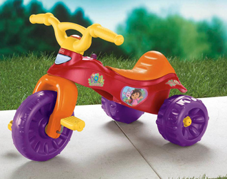 K6672 Dora the Explorer Tough Trike