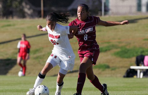 Lady Govs win 1-0 against Eastern Kentucky. (Courtesy: Keith Dorris/Dorris Photography)