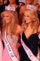 2011 Miss Tennessee USA Ashley Durham and Miss Tennessee Teen USA Kaitlin White.