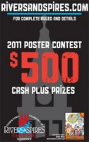 Rivers and Spires Festival Poster Contest