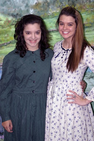 (L to R) Ann-Rickman Bell and Briley Bell from the play SPIRIT