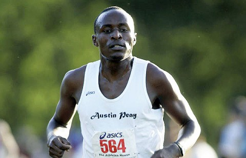 Sophomore Geofrey Kosgei finished 11th at the Fast Cats Classic, Saturday. (Courtesy: Keith Dorris/Dorris Photography)