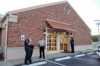 Old Trenton Road side exit-Sgt Johnny Ransdell, Detective Mike Alexander, Detective Ray Colon, Officer Wylie Dowlen