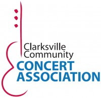 The logo of the Clarksville Community Concert Association
