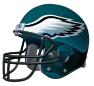 Eagles Helmet