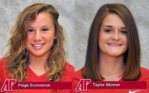 Lady Govs Paige Economos and Taylor Skinner.