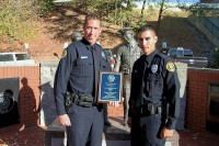 Officer Jeff Lucenti and Officer Brandon Myers