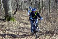 Mountain bike ride.