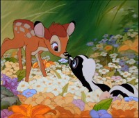 "Disney's Bambi and his woodland friends as they teach children to ""Protect Our Forest Friends."""