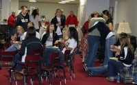 Lady Govs Volleyball NCAA Selection Show Party. (Courtesy: Austin Peay Sports Information)