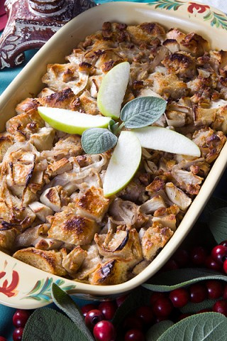 Sweet Apple Pecan Stuffing
